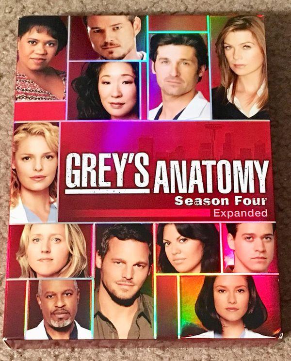 Like New Grey\'s Anatomy Season 4 DVD Set for Sale in Louisville, KY ...