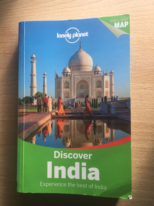 India Lonely Planet Travel Guide Book Great Book For Sale In La