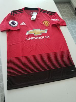Brand new soccer Jersey sz medium Manchester United for Sale in Stone Mountain, GA