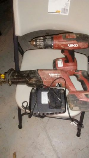 Hilti drill and saw. for Sale in Rockville, MD