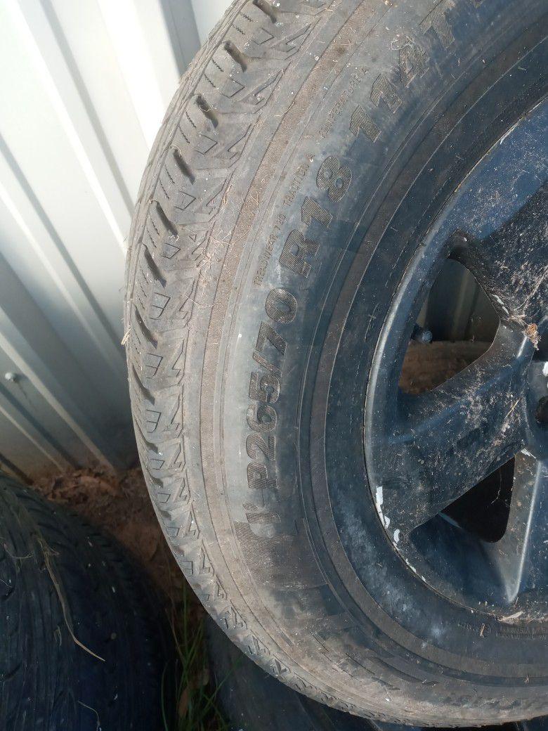 Tires and Wheels 18,rines Y Llantas 18