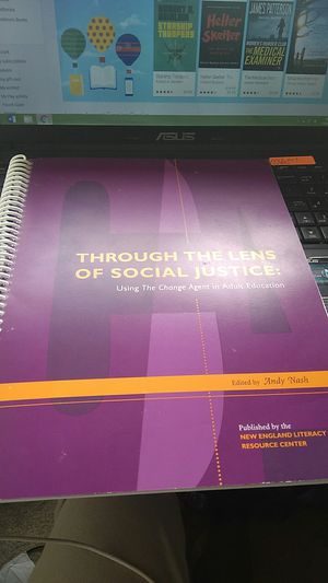 Through The Lens of Social Justice: Using The Change Agent in Adult Education for Sale in Silver Spring, MD