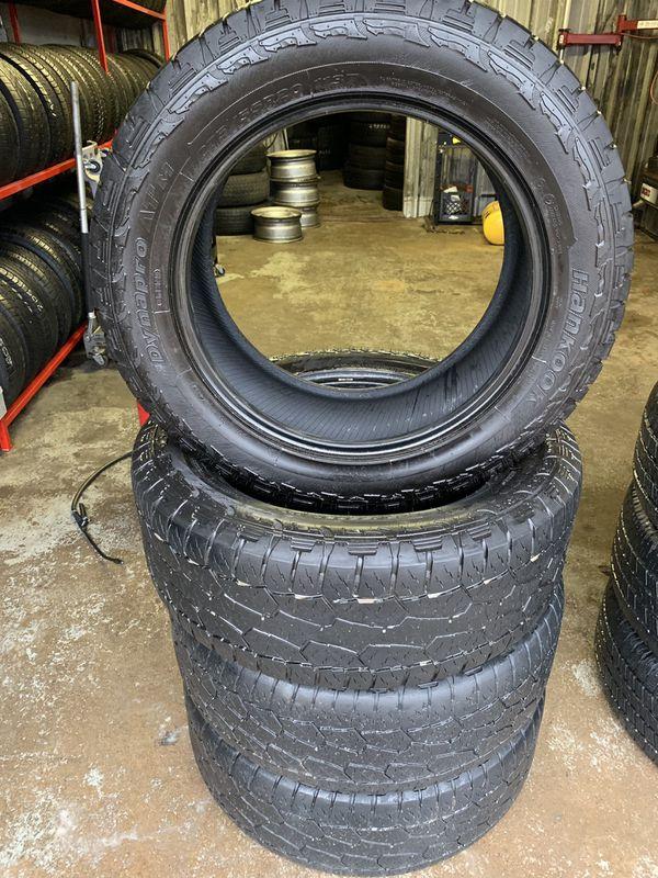 Hankook Dynapro Atm 275 55r20 >> 20 Inch Tire 275 55r20 Hankook Dynapro Atm For Sale In Denison Tx Offerup