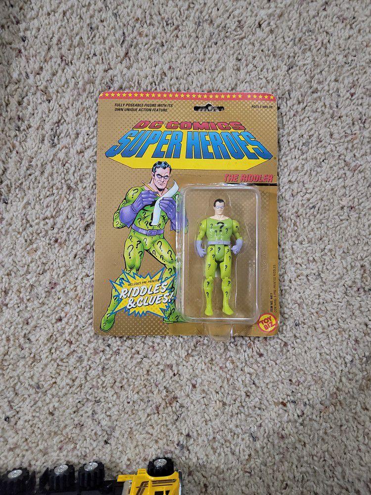 1989 Toy Biz Super Heroes The Riddler