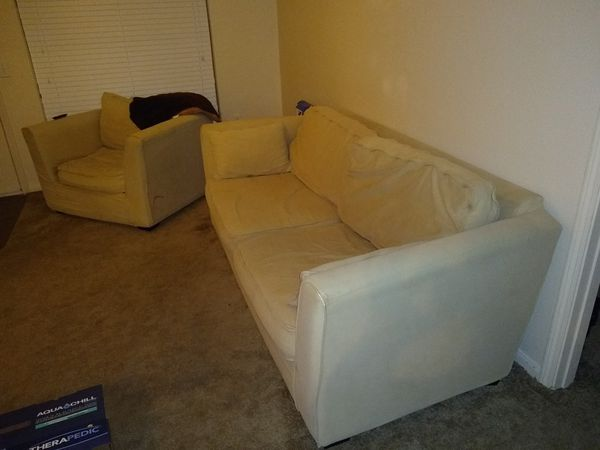 Pottery Barn Couch And Love Seat For Sale In Fayetteville