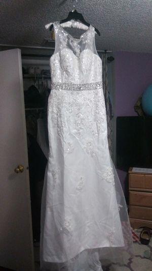 Wedding dress size 14 for Sale in West Palm Beach, FL