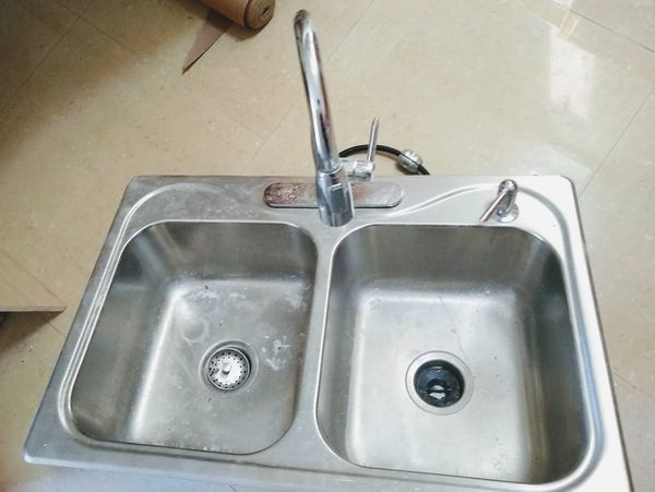 Stainless steel double kitchen sink 33x22 for Sale in Palm Beach ...