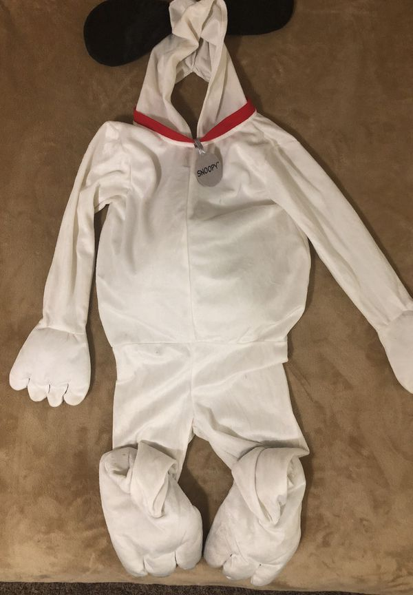 47e0a50a3b Snoopy Costume Halloween kids size 3-4 for Sale in West Haven