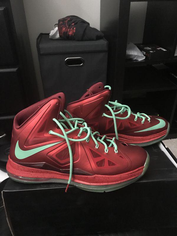 60f1ea0f6c5 ... canada nike lebron x christmas size 12 clothing shoes in covington wa  offerup 66879 9f87c