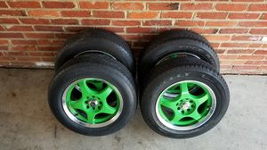 15 inch MB racing rims/rines for Sale in Annandale, VA
