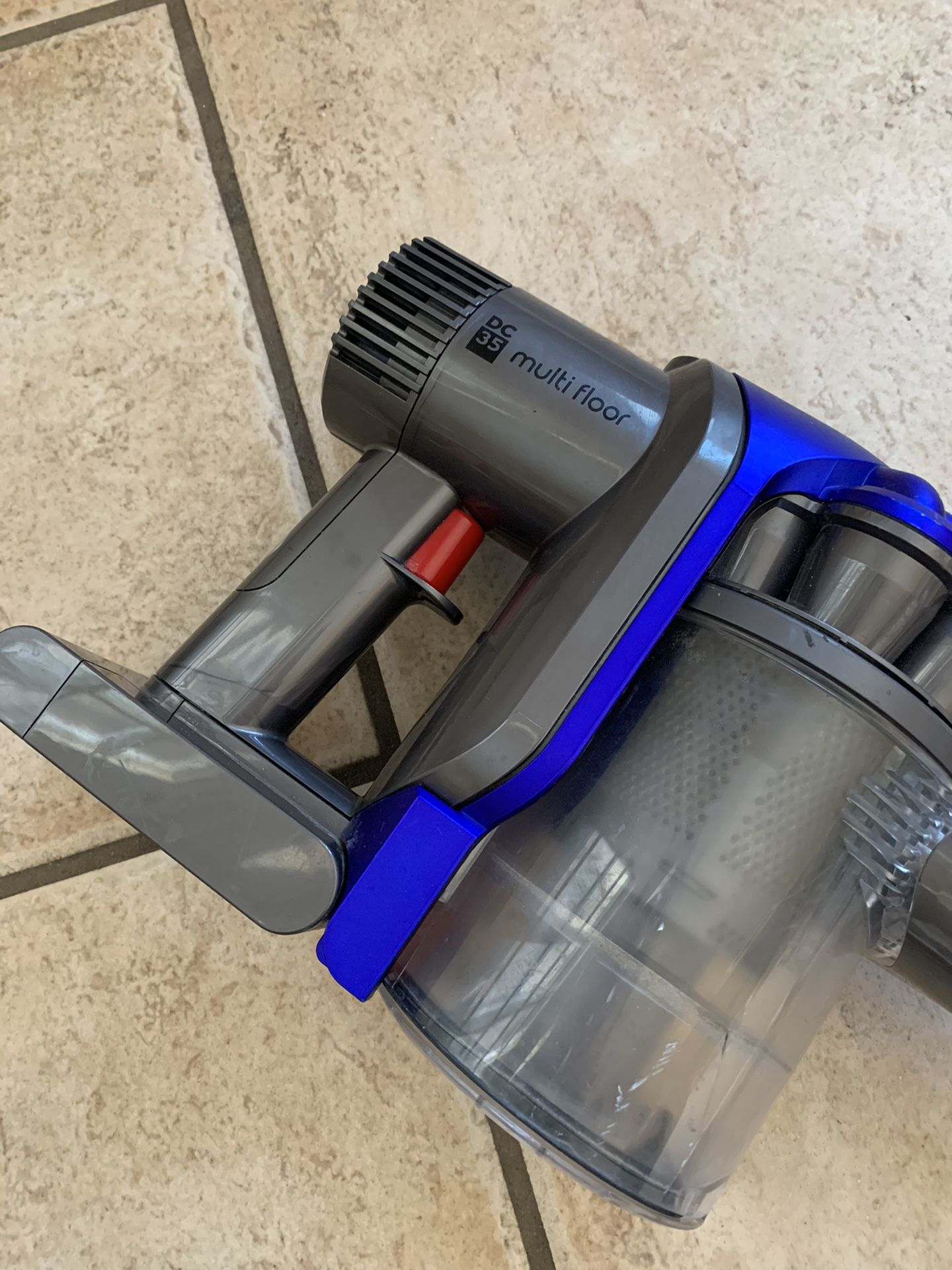 Dyson DC35 Animal Slim- Stick Cordless Red & Gray Vacuum Cleaner - Power Adapter