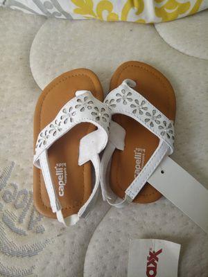 Girl sandals kid size 6-7 for Sale in Hyattsville, MD