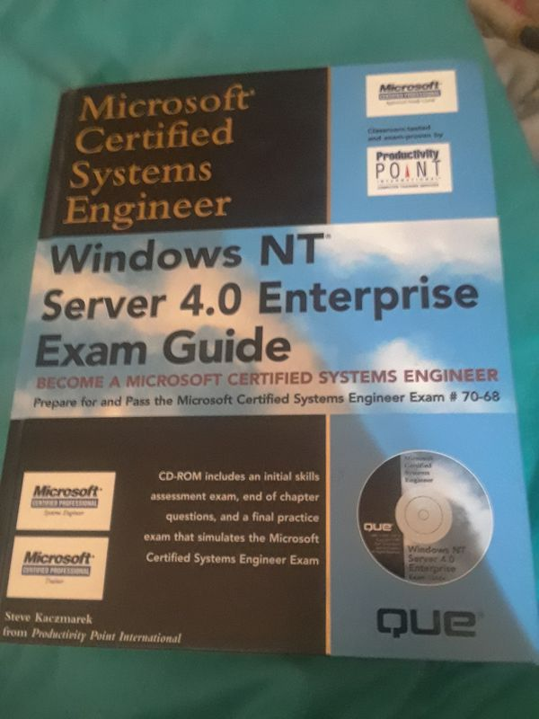 Microsoft Certified Systems Engineer Exam Book New Books