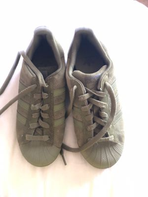 fcd58c7714151 Green Adidas size 3.5 for Sale in San Leandro