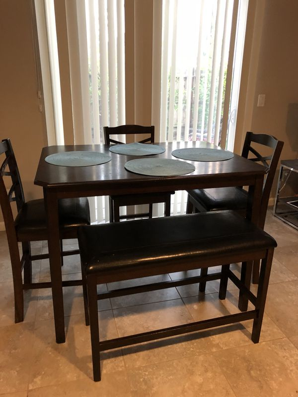 Tall dining table for Sale in Madera, CA - OfferUp