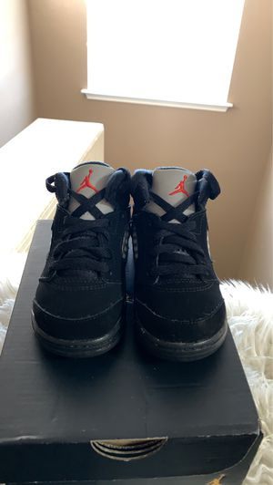 Photo Toddler Air Jordan 5 metallic sz 7c