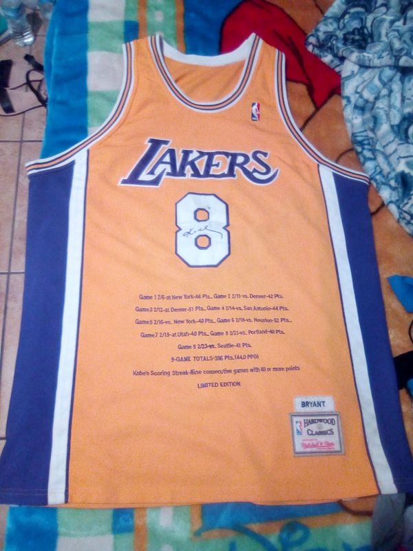 new product 462da 458e7 Kobe Bryant jersey #8 LIMITED EDITION/CLASSICS NBA for Sale in City of  Industry, CA - OfferUp