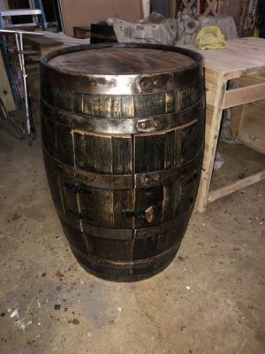Whiskey Barrel Cabinet for Sale in Rockville, MD