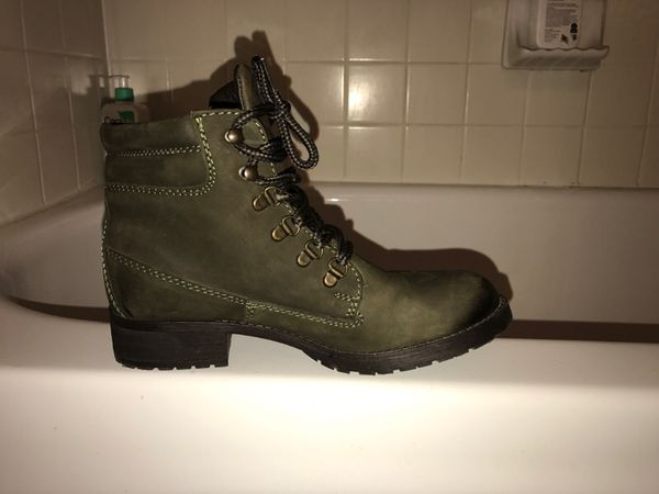 35457d331ee Olive green Steve Madden booties for Sale in Austin, TX - OfferUp