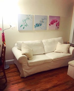 IKEA love seat - sofa bed - available as of Feb 24th for Sale in New York, NY