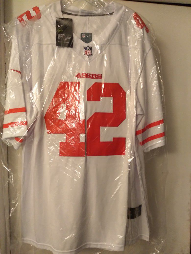New 49ers Jersey Size Large