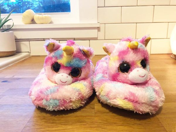 Ty Beanie Boo Fantasia Unicorn slippers for Sale in Tacoma 467555549ce4
