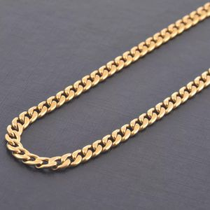 Gold Plated 316 Stailess Steel Chain Necklace Vintage Unisex Jewelery for Sale in Davenport, FL