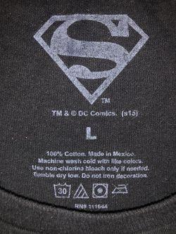 Superman Men's Shirt Size L Thumbnail