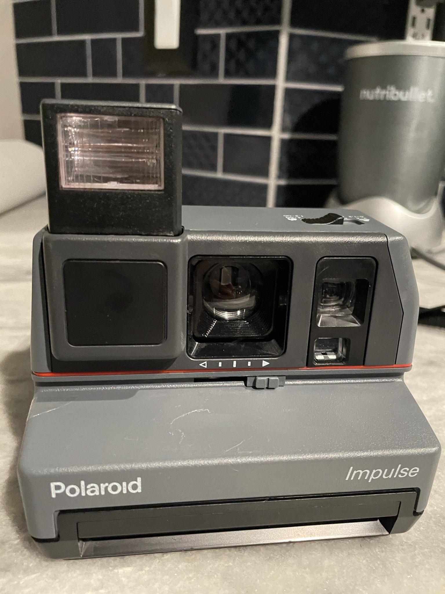Vintage Polaroid Impulse camera, Works