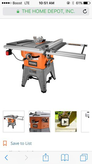 Cast-iron table saw for Sale in Severn, MD