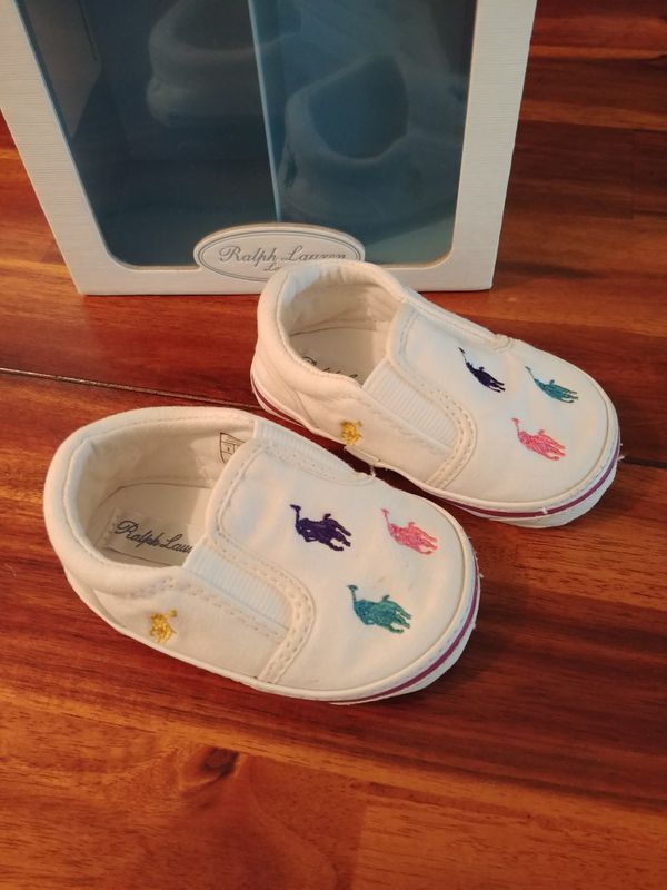 9c94cefc2 Polo Ralph Lauren infant shoes size 3 for Sale in Seattle