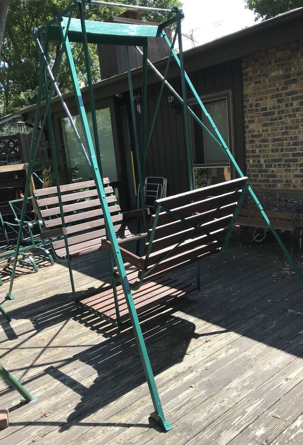 Face To Face Glider Swing For Sale In Elgin Il Offerup
