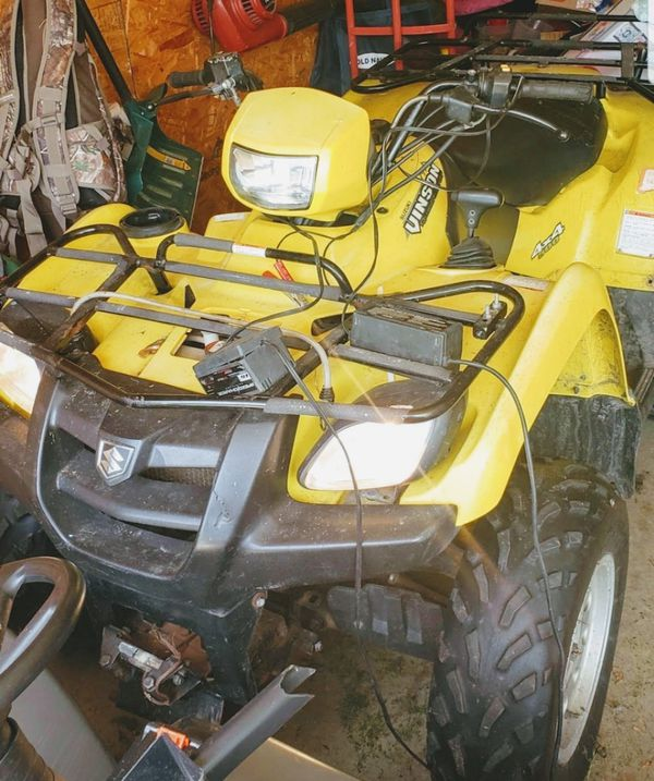 4x4 atv with plow