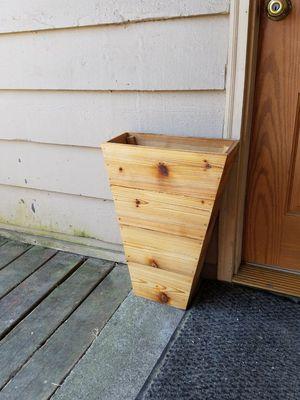 Handmade Cedar Planter for Sale in Portland, OR