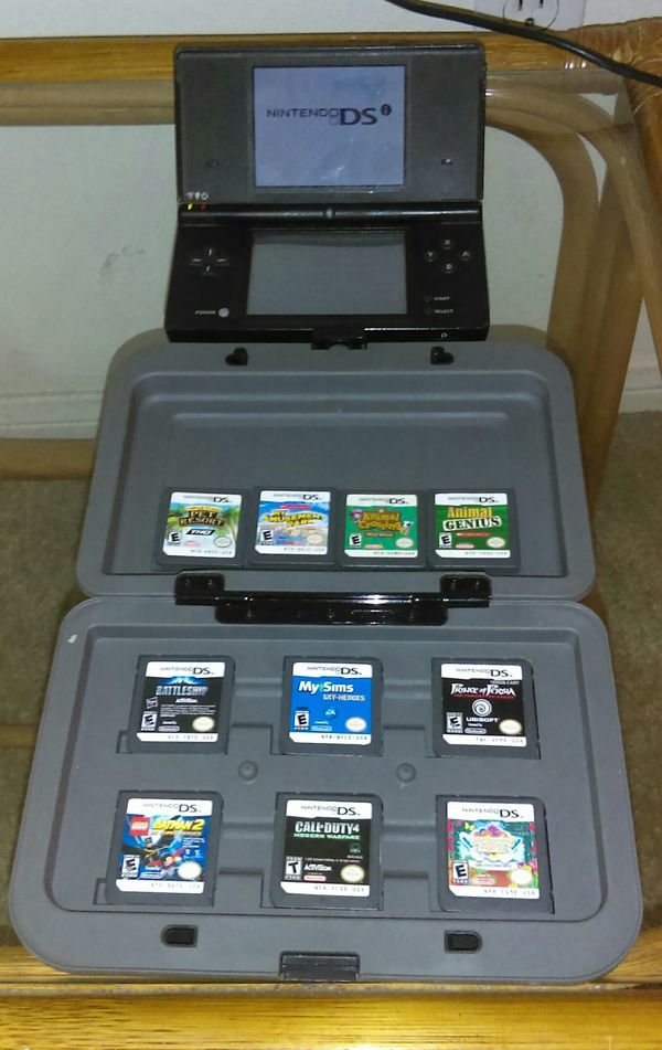 nintendo ds with 10 now with 11 games for sale in edgewood wa offerup