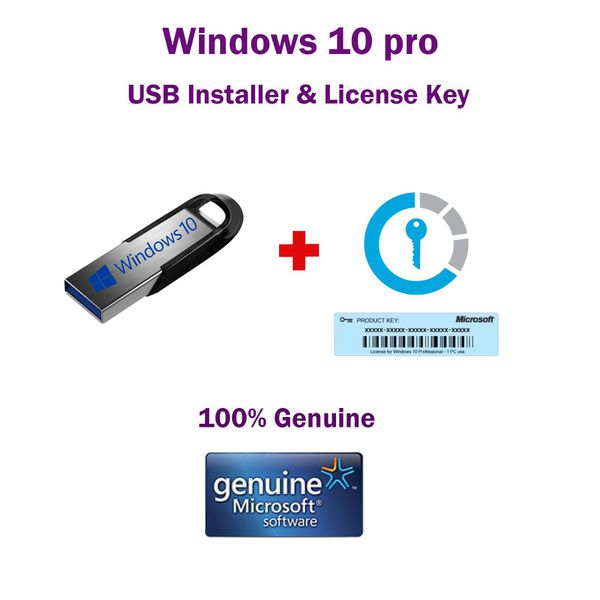 Microsoft Windows 10 Bootable USB Drive Installation ...