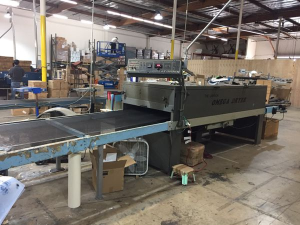 Lawson Omega 36 Conveyor Dryer For Sale In City Of Industry Ca