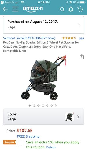 Dog stroller. for Sale in Deerfield Beach, FL