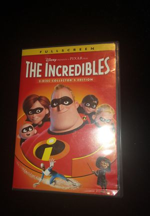 The incredibles 2 disc collectors edition for Sale in Apex, NC