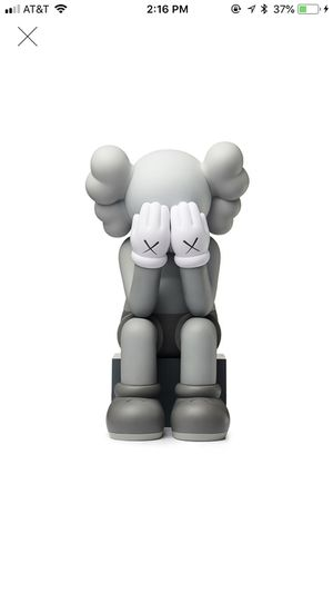 a4fbb48c413 KAWS Passing Through Open Edition Vinyl Figure Grey for Sale in Huntington  Beach