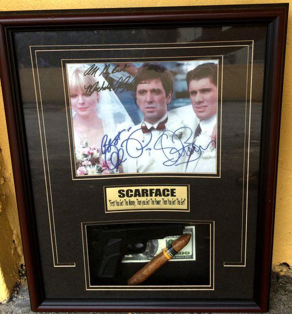 Scarface Memorabilia Gun Cigar For Sale In Coral Gables Fl Offerup