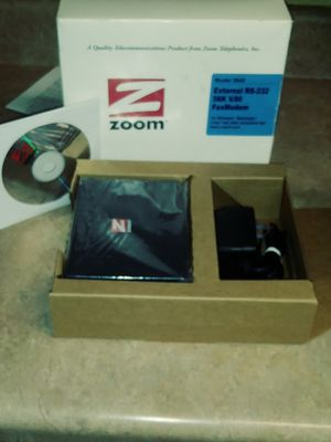 External RS-232 56K FAX MODEM for Sale in Hernando, MS