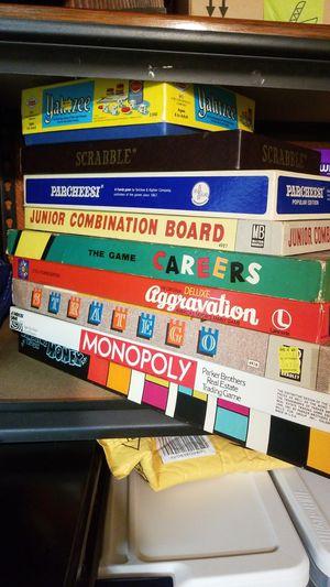 9 Vintage Board Games for Sale in Alexandria, VA