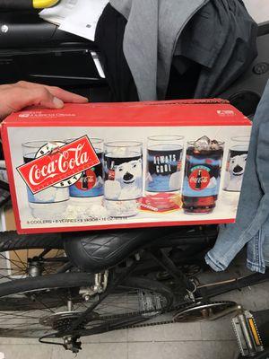 Vintage Coke Glasses Brand New in Box 8-Glasses for Sale in Los Angeles, CA