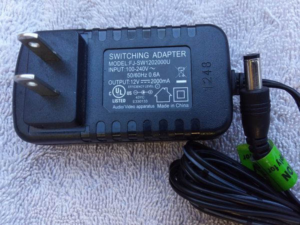 12V 2A AC power supply for routers/ext HDD/CCTV/Bluetooth speakers for Sale  in La Mesa, CA - OfferUp