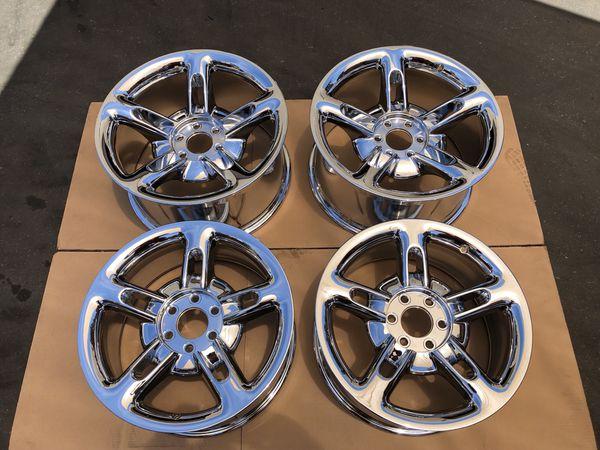 Santa Ana Auto Center >> Chevy SSR OEM chrome finish rims newly plated genuine ...