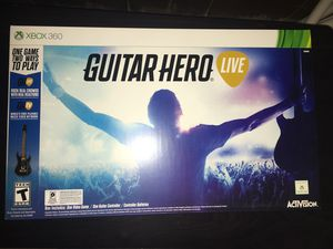 GUITAR HERO LIVE XBOX 360 NEW IN BOX for Sale in Cleveland, OH