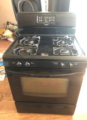 Photo Black Frigidaire electrolux gallery series gas oven