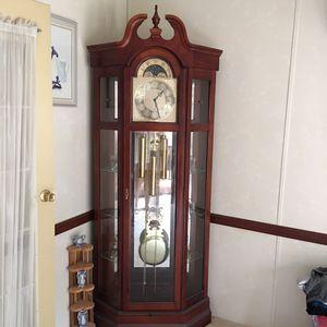 Antique grand clock for Sale in Arrington, VA