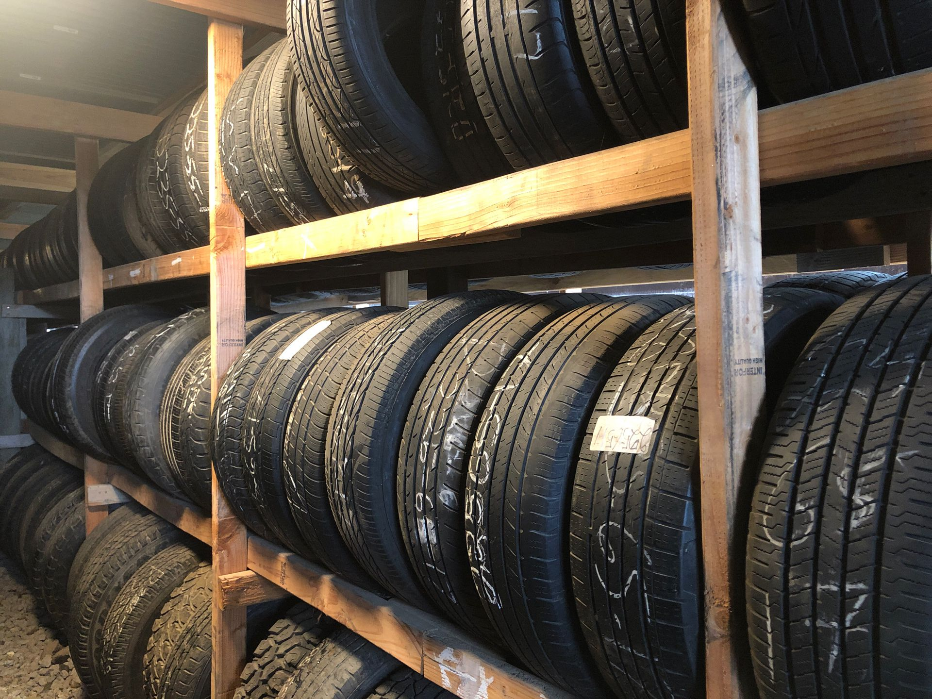 """17"""" used tires from car to suv and Tuck tires"""